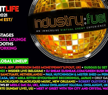 Industry: Fuel, An Immersive Virtual Event Experience Saturday 15th May 2021