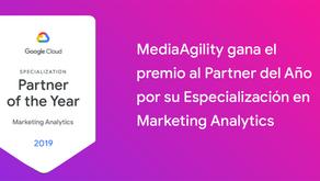 MediaAgility gana el premio al socio del año por Marketing Analytics