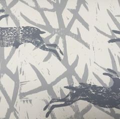 Wildwood & Hares Wallpaper