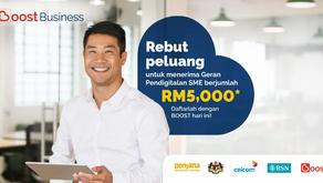 Naik taraf perniagaan dan nikmati penjimatan dengan geran pendigital PKS