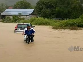 Banjir kilat landa Langkawi