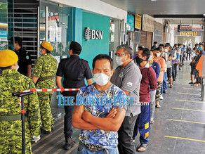 BSN Sibu branch closed until Jan 31 after staff tests positive for Covid-19