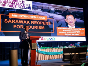 Incentives introduced to help reboot the tourism in Sarawak