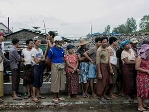Millions in Myanmar struggle to buy food as coup price hike bites