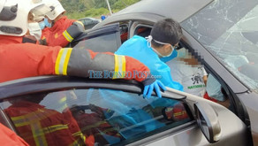 Male driver killed, another injured in accident at Pan Borneo Bintulu-Miri Road