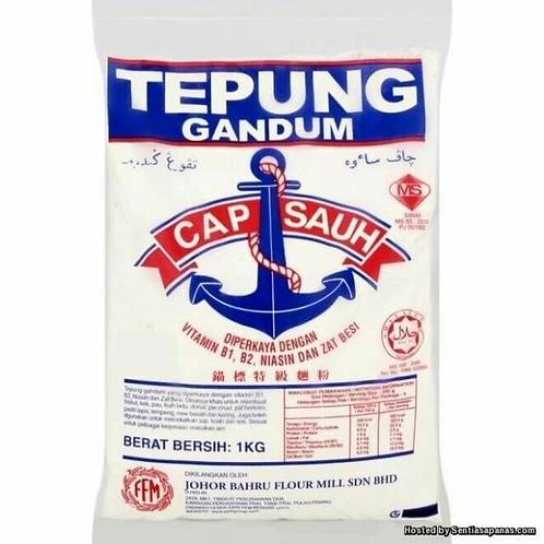 TEPUNG GANDUM CAP SAUH (1KG)