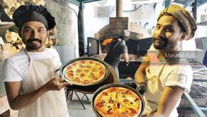 PKP, piza kayu api Ulicafe laris