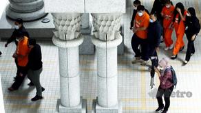 Cuci duit haram: Buru Datuk Seri cabut lari