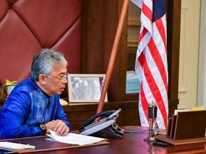 Agong berkenan terima panggilan telefon Presiden Turki, zahir keprihatinan berhubung isu Palestin