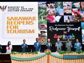 Sarawak turunkan sasaran kepada dua juta pelancong tahun ini