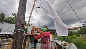 #benderaputih movement spreads to Kuching