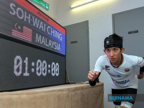 Malaysia's Guinness World Records tower runner aims higher