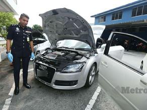 Upah polis RM1,000 untuk samun kereta dibeli warga asing