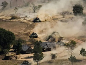 Rockets fired at two Myanmar air bases, no casualties: Military
