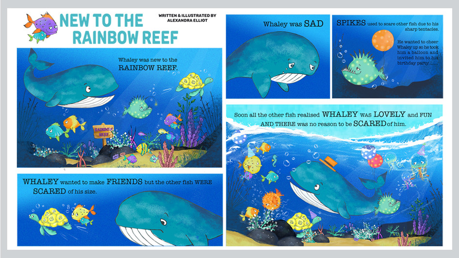 NEW TO THE RAINBOW REEF