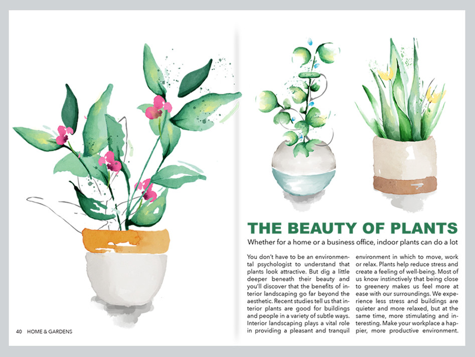 BEAUTY OF PLANTS EDITORIAL