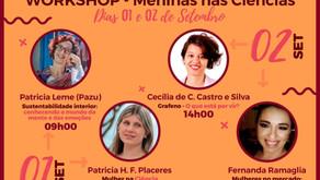 UFSCAR | I Workshop Meninas nas Ciências apresenta palestras online e gratuitas