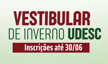 Vestibular de Inverno 2021: Udesc Joinville oferece quase 300 vagas em nove cursos