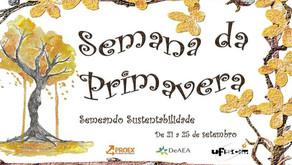 UFSCar |  Universidade Federal de São Carlos promove Semana da Primavera: Semeando Sustentabilidade