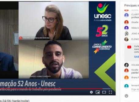 Transformação do mercado de trabalho e das competências profissionais diante da pandemia   UNESC