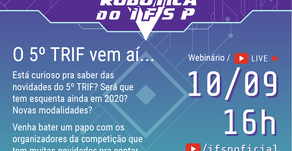 IFSP | Vem aí o 5º TRIF! Webinar traz as novidades da próxima edição
