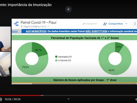 Aluno da UESPI fala sobre imunização e desmistifica informações sobre a vacina da Covid-19