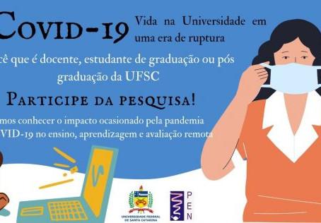 Estudo busca respostas sobre efeitos do ensino remoto na UFSC