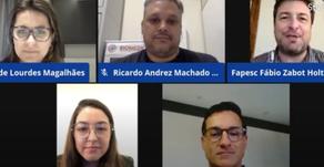 Udesc   Live da Fapesc explica teste rápido da Udesc Lages para Covid-19