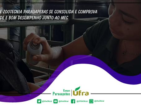 Curso de Zootecnia Parauapebas da UFRA se consolida: qualidade e bom desempenho junto ao MEC