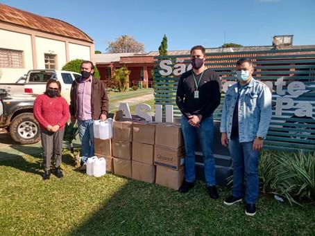 Unipampa faz doações para o Asilo de São Borja