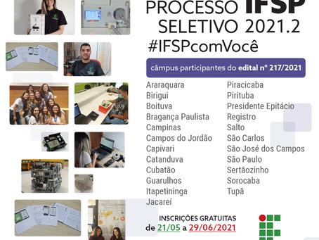 IFSP oferece 2.170 vagas para cursos técnicos no 2º semestre