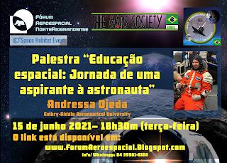 Fórum Aeroespacial Norte-Rio-Grandense promove palestra sobre educação espacial | UFRN