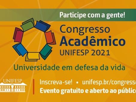 Com o tema Universidade em Defesa da Vida, Congresso Acadêmico Unifesp 2021 abre inscrições