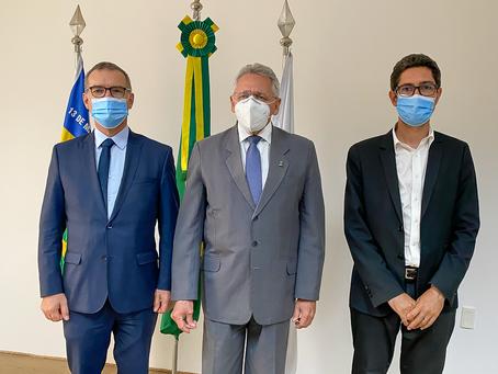 Cônsul e vice-cônsul geral da França em Recife visitam a UFPI