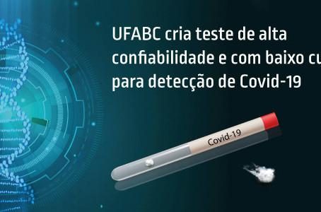Pesquisadora da UFABC cria teste de alta confiabilidade e baixo custo para Covid-19