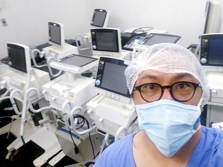 Docente da UnB faz reparos em respiradores dos hospitais públicos do DF