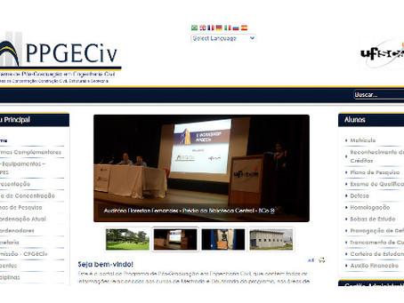UFSCAR | Pós-graduação em Engenharia Civil realiza seleção para mestrado