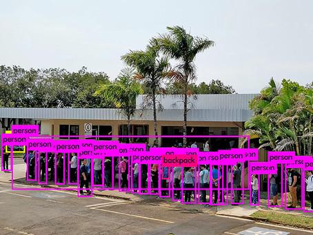 Câmeras dimensionam o fluxo nos restaurantes universitários | Unicamp