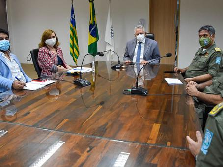 UFPI e PMPI discutem possibilidade de convênio para qualificação de oficiais