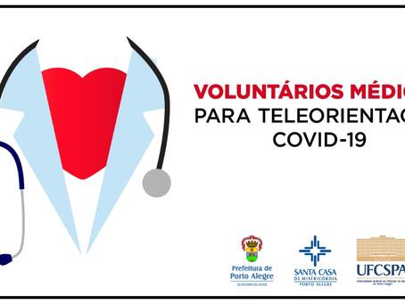 Universidade busca médicos voluntários para teleatendimento de Covid-19 | UFCSPA