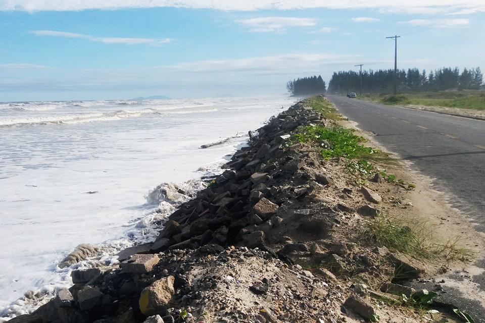 Impactos no litoral pela ação do homem
