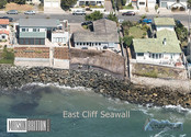 Seawall At East Cliff