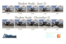 East Cliff Shadow Study