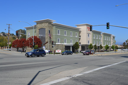 Hampton Inn Rendering, Santa Cruz