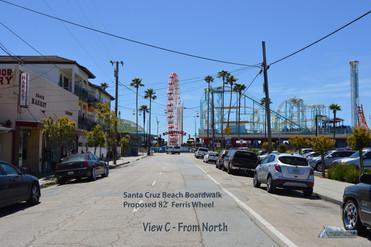 Santa Cruz Beach Boardwalk 82' Ferris Wheel North View