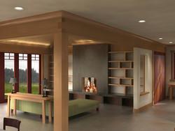 Soquel Hills Interior rendering