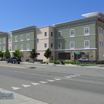 Hampton Inn Mission Street - Santa Cruz From South