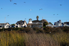 Lighthouse home at East Cliff Drive