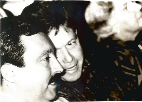 Sodero e Pasin em 1990