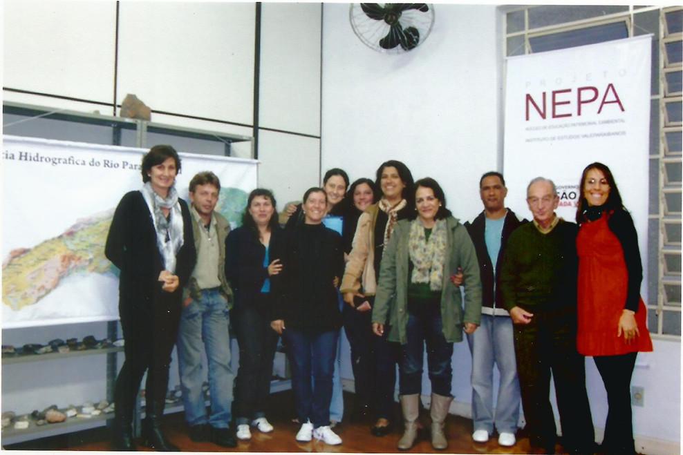 NEPA – participantes com coordenadores